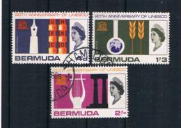 Bermuda 1966 Königin Mi.Nr. 196/98 Kpl. Satz Gestempelt - Bermuda