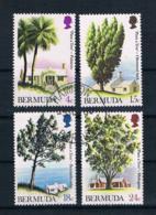 Bermuda 1973 Bäume Mi.Nr. 287/90 Kpl. Satz Gestempelt - Bermuda