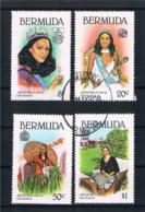 Bermuda 1980 Frauen Mi.Nr. 386/89 Kpl. Satz Gestempelt - Bermuda