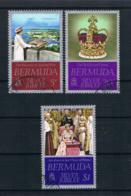 Bermuda 1977 Königin Mi.Nr. 336/38 Kpl. Satz Gestempelt - Bermuda