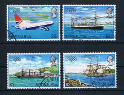 Bermuda 1980 Schiffe Mi.Nr. 382/85 Kpl. Satz Gestempelt - Bermuda