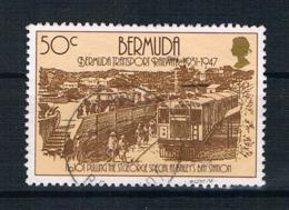 Bermuda 1987 Eisenbahn Mi.Nr. 501 Gestempelt - Bermuda