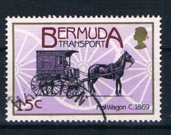 Bermuda 1988 Pferdekutsche Mi.Nr. 521 Gestempelt - Bermuda