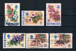 Bermuda 1970 Blumen Kleines Lot 6 Werte Gestempelt - Bermuda