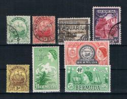 Bermuda Kleines Lot 4 Werte Gestempelt + 4 Ungebraucht - Bermuda