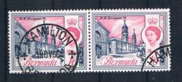 Bermuda 1962 Mi.Nr. 174 Waagr. Paar Gestempelt - Bermuda