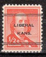 USA Precancel Vorausentwertung Preo, Locals Kansas, Liberal L-5 TS - Vereinigte Staaten