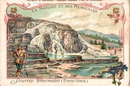 CHOCOLAT POULAIN ORANGE - LA NATURE ET SES MERVEILLES - SOURCES THERMALES (Etats-Unis) - Poulain