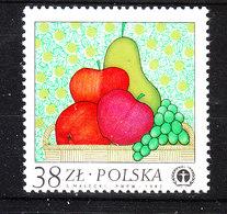 Polonia   Poland -   1983. Pere, Mele, Uva. Pears, Apples, Grapes. MNH - Frutta