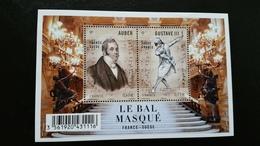 France Timbre Bloc-feuillet NEUF - N° F4706- Année 2012 - Le Bal Masquél - Blocks & Kleinbögen