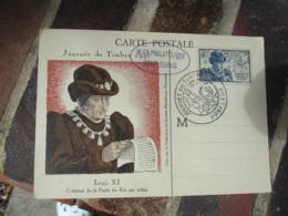 1945 Honfleur Louis 11 Cm Carte Maximum - Maximumkaarten