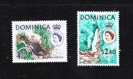 Dominica  - 1963-67. Sorgente Sulfurea E Cascata.. Ordinary Series: Sulfur Spring And Waterfall.  MNH - Isole