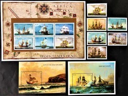 *  Antigua Barbuda 1996**Mi.2334 Sailing Ships , MNH  [18;151] - Schiffe