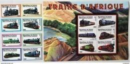 Guinee 2002**Mi.3587-3606 Trains , MNH [8;85] - Eisenbahnen