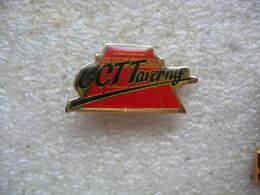 Pin's CCTT, Cosmopolitan Club Tennis De Taverny (Dépt 95) - Tennis