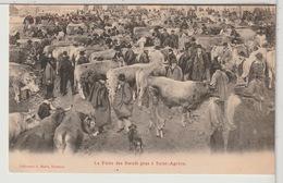 07 - SAINT AGRÈVE - La Foire Des Boeufs Gras à Saint Agrève Animée - 1904 - Saint Agrève