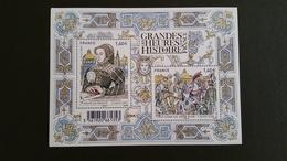 France Timbre Bloc-feuillet NEUF - N° F5067 - Année 2016 - Les Grandes Heures De L'histoire - Mint/Hinged