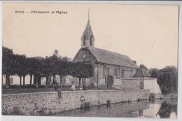 VELIZY - L'Abreuvoir Et L'Eglise - Velizy