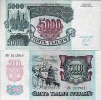 Russia 1992 - 5000 Rubles - Pick 252a UNC - Russia