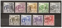 Nederlands Indie 186 187 188 189 190 191 192 193 194 Used ; Karbouw 1934 No Watermark Netherlands Indies PER PIECE - Netherlands Indies