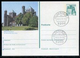 """Bundesrepublik Deutschland / 1978 / Bildpostkarte """"HILDESHEIM"""" Mit Bildgleichem Stempel (22042) - [7] Federal Republic"""