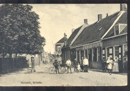 Ierseke - Kerkplein - 1907 - Pays-Bas