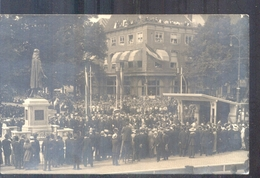 Den Haag - Fotokaart - Onthulling Johan De Wit - 1918 - Den Haag ('s-Gravenhage)