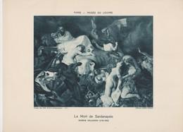 Eugéne Delacroix, La Mort De Sardanapale. - Photographie