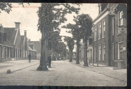 Langweer - Buurt - 1913 Grootrond Stempel Langweer - Pays-Bas
