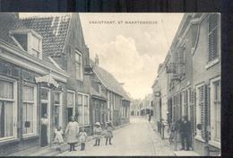 St Maartensdijk - Kaaistraat - 1922 Langebalkstempel - Pays-Bas