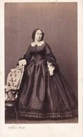 Koningin Sophie NEDERLANDEN  Photo CDV Par KEN Paris, Années 1860 Reine Sophie Des Pays-Bas. Parfait état ! - Oud (voor 1900)