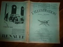 12 Oct.1929 L'ILLUSTRATION :Complet , Et Pages Publicitaires (automobiles,etc); Notre-Dame De Paris ;Madrid;Prague;etc - Zeitungen