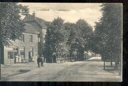 Groesbeek - Dorpstraat - 1924 - Langebalk Stempel - Pays-Bas