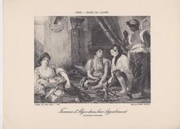 Eugéne Delacroix, Femmes D'Alger Dans Leur Appartement. - Photographie