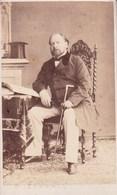 LA HAYE Koning Van De NEDERLANDEN Guillaume Photo CDV Par R. SEVERIN Années 1860 Parfait état - Foto's