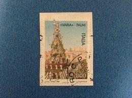 1997 ITALIA PALMI LA VARIA FRANCOBOLLO USATO STAMP USED - 6. 1946-.. Repubblica