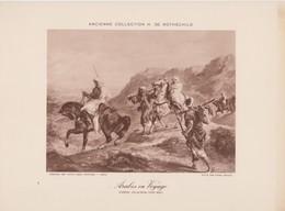Eugéne Delacroix, Arabes En Voyage. - Photographie