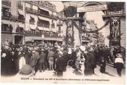 CPA COTE D'OR.DIJON.ETENDARD DU 48° D'ARTILLERIE - Dijon
