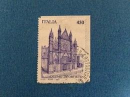 1997 ITALIA DUOMO DI ORVIETO FRANCOBOLLO USATO STAMP USED - 6. 1946-.. Repubblica