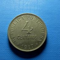Portugal 4 Centavos 1917 - Portugal