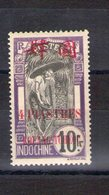 Kouang Tchéou. 4 Piastres Sur 10 Francs - Nuevos
