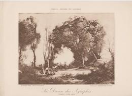 Corot, La Danse Des Nymphes. - Photographie
