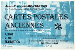 Pub CPA Jean François Montarras - RAON L' ETAPE Fac Similé Timbre Semeuse .  (115082) - Timbres (représentations)