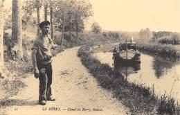 Le Berry - Canal Du Berry, Haleur - Halage - Péniche - Cecodi N'1385 - Frankrijk