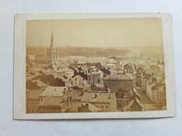 GROTE ORGINELE FOTO  AFMETINGEN 17 CM OP 11 CM LUIK LIEGE PANORAMA  1880 - Ancianas (antes De 1900)