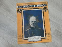 PAYS DE FRANCE N°77. 6/4/16. Gal ALEXIEF. PRINCE DE SERBIE. CONFERENCE ALLIES. VERDUN. SALONIQUE. LE SUSSEX TORPILLE. - Français