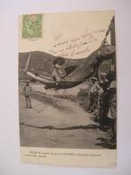 C.P.A.- Nouvelle Calédonie - Nouméa - Enfant Sur Un Requin Capturé Au Port De Nouméa - 1909 - SUP (CE 88) - Nouvelle Calédonie