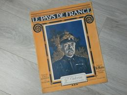 PAYS DE FRANCE N°78. 13/4/16. Gal CADORNA. CADORNA VERDUN . HAUCOURT MALANCOURT. RODIN. - Français