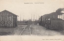 TELOCHE (Sarthe), France , 00-10s ; Gare Des Tramways ; Train At Railroad Station - Frankreich