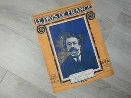 PAYS DE FRANCE N°79. 20/4/16. ARISTIDE BRIAND. ARTILLERIE VERDUN. LES NOUVEAUX AVIATIKS. HYDRAVION. FRENCH. SERMAIZE. - Français